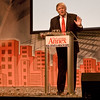 """How to make a million dollars in two hours: Donald Trump, speaking at the """"Real Estate & Wealth Expo"""" in San Francisco."""