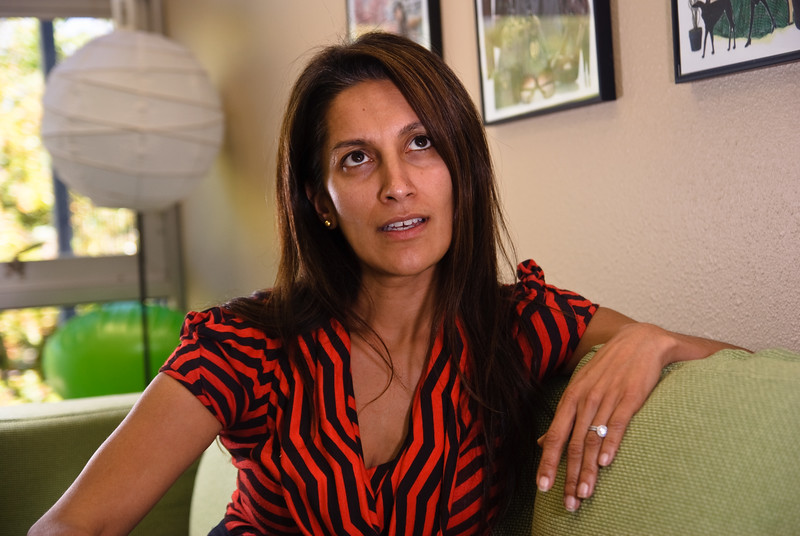 Former Google executive Sukhinder Singh Cassidy, CEO of social networking site Polyvore when I photographed her in May 2010. She's now the founder of Project J Corporation.