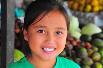 Fruit Girl, Cameron Highlands, Malaysia