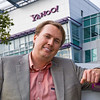Former Yahoo! Mobile chief Marco Boerries in front of company headquarters in Sunnyvale, California.