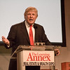 """Donald Trump speaking at the """"Real Estate & Wealth Expo"""" 2007 in San Francisco."""
