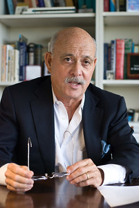 Jeremy Rifkin in his office