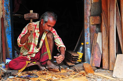 Craftman, Kerala, India