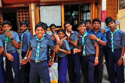Students, Kerala, India