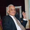 See how this works? Bose founder Dr. Amar Bose at his office in Framingham, Massachusetts.