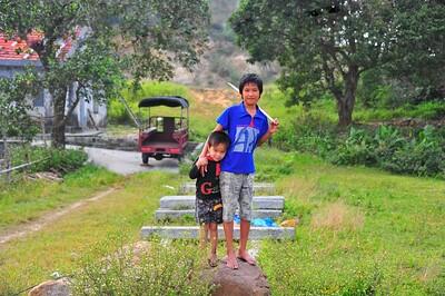 Brothers, Quan Lan Island, Bai Tu Long Bay, Vietnam