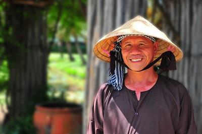 A Vietnamese man, Ho Chi Minh, Vietnam