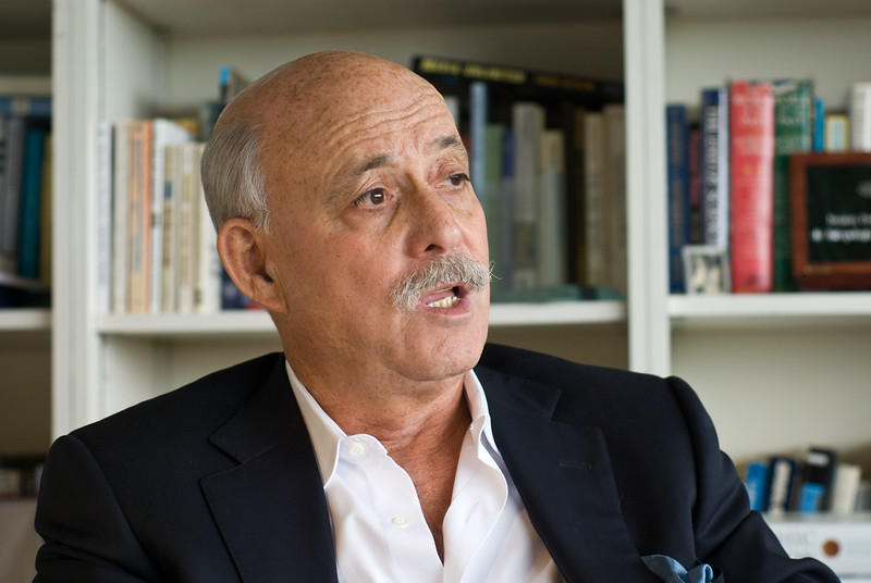 "Bestselling author and futurist Jeremy Rifkin, president of the Foundation on Economic Trends ( <a href=""http://www.foet.org"">http://www.foet.org</a>), at his office in Washington, DC."
