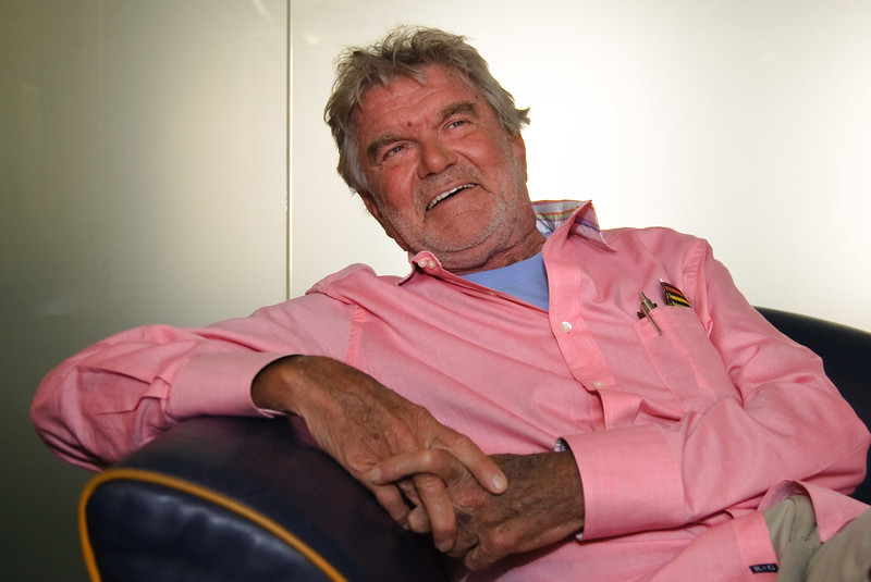 Frog Design founder Hartmut Esslinger at company headquarters in San Francisco.