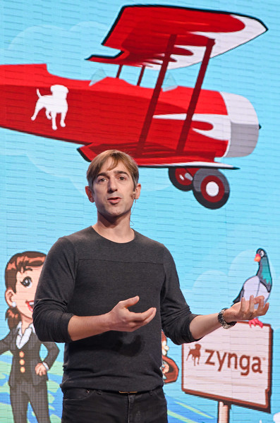 High-flying ambitions: Zynga boss Mark Pincus wants to take his gaming company far beyond its Facebook roots.