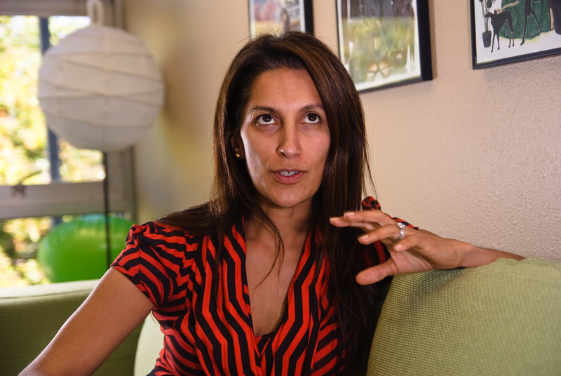 Former Polyvore CEO Sukhinder Singh Cassidy, photographed at company headquarters in Mountain View, May 2010.