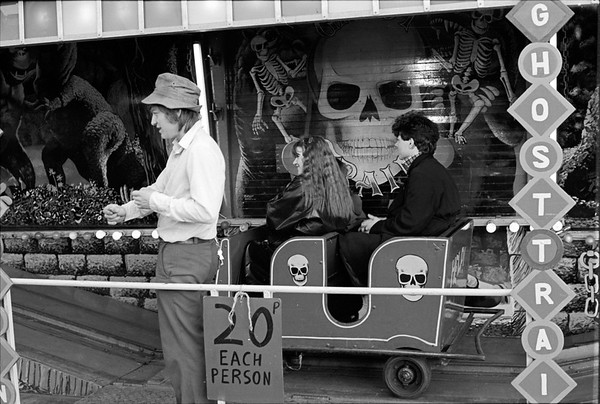 Ride Operator - Firth Park Fair Sheffield Yorkshire UK 1970's