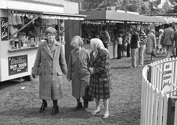 Three Old Women - Firth Park Sheffield Fair 1970's