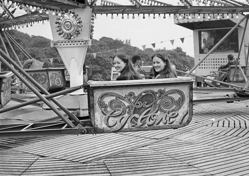 Diane and Pat - Firth Park Sheffield Fair 1970's