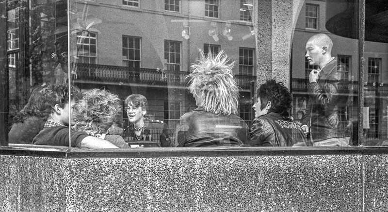 York Punk Rockers - York Theatre Royal Yorkshire UK 1988