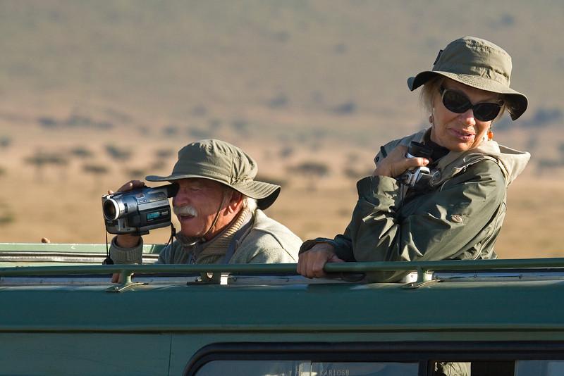 Wayne and Cheryl, Masai Mara