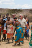 Guys Dancing at Samburu Manyatta