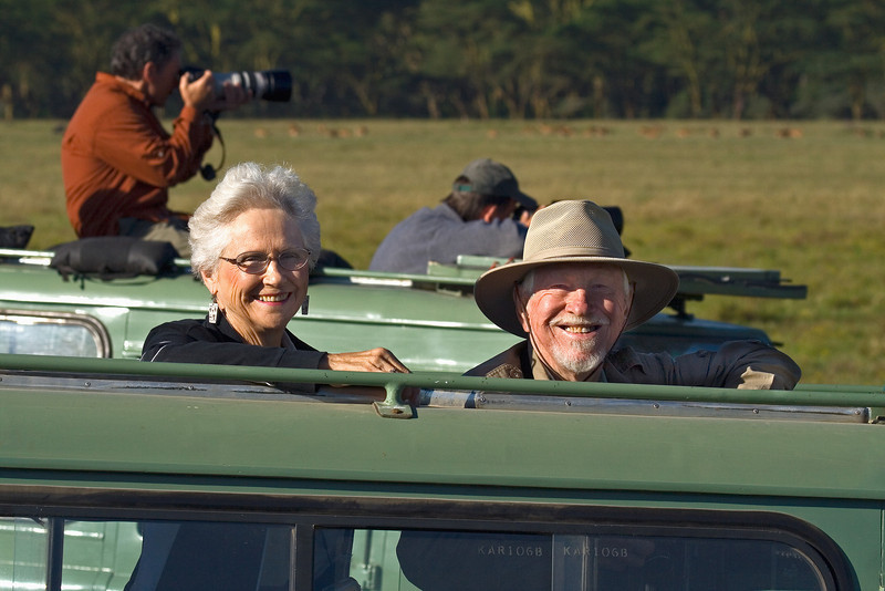 Pete and Maxine at Nakuru