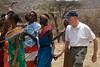 Bill Dancing at the Samburu Manyatta