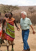 Pete Dancing at Samburu Manyatta