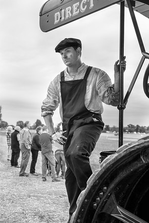 Tractor Driver - North Yorkshire UK 2016
