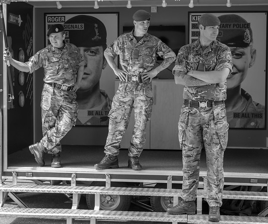 Army Recruiting - Leeds West Yorkshire UK 2016