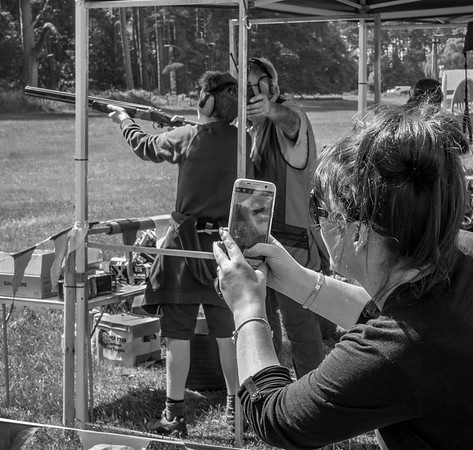 Shooting at Pickering Game Fair - North Yorkshire UK 2016