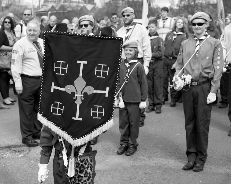 York Scouts Parade - North Yorkshire UK 2016