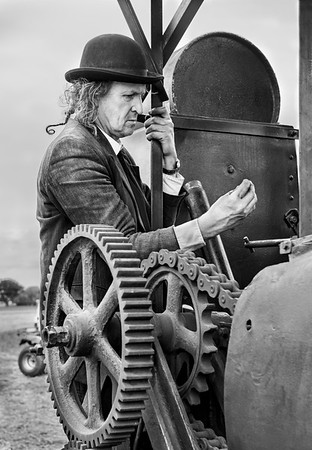 Steam Tractor  Repairs - North Yorkshire 2016