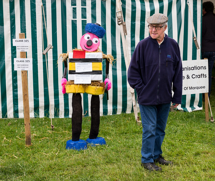 Scarecrow Competition - Sutton and Huby Show UK 2017