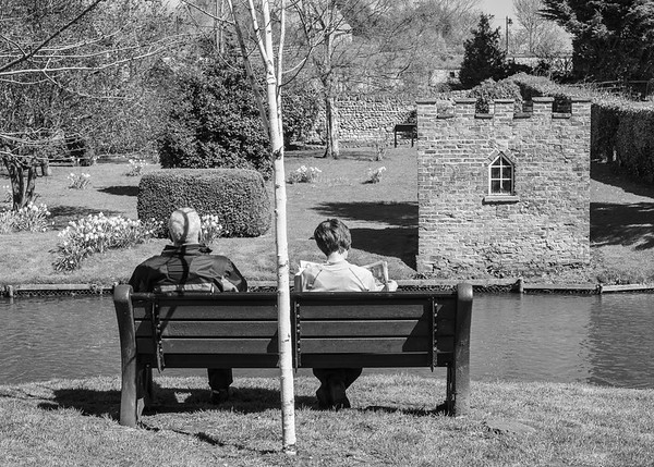 Relaxing near the Leech House - Bedale North Yorkshire UK 2018