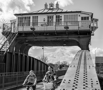 Wilmington Swing Bridge - Hull East Yorkshire UK 2018