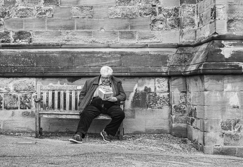 Reading in Ripon - North Yorkshire uK 2018