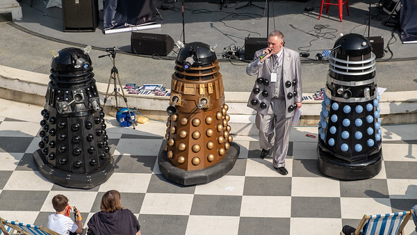 Singalong with Daleks - Scarborough North Yorkshire UK 2018