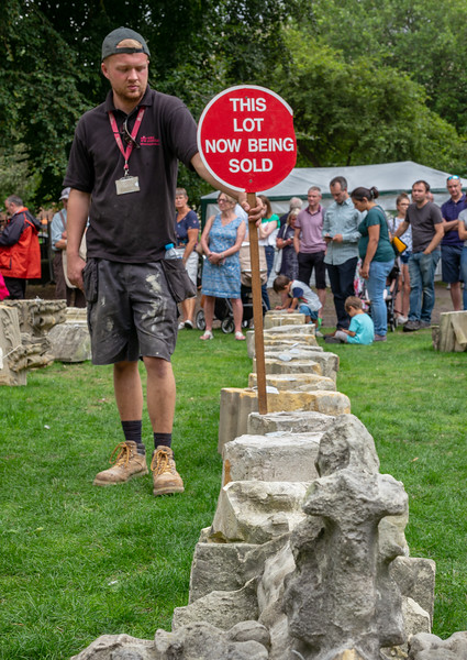 York Minster Stone Auction - Dean's Park York UK 2018
