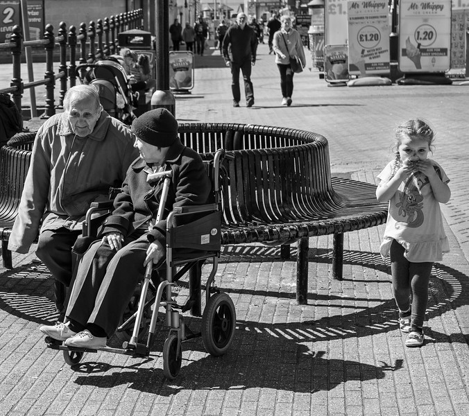 Three Generations - Bridlington East Yorkshire 2019