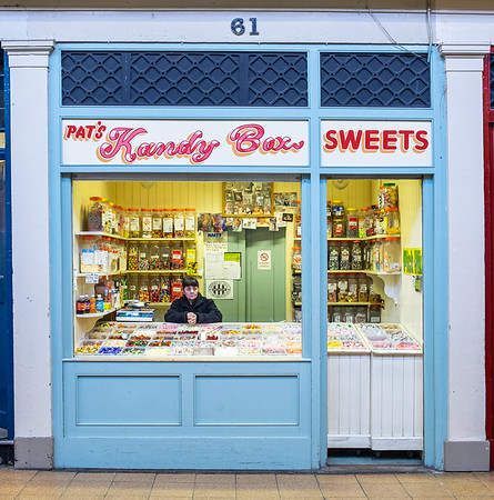 Pat's Sweet Shop - Newcastle upon Tyne UK 2020