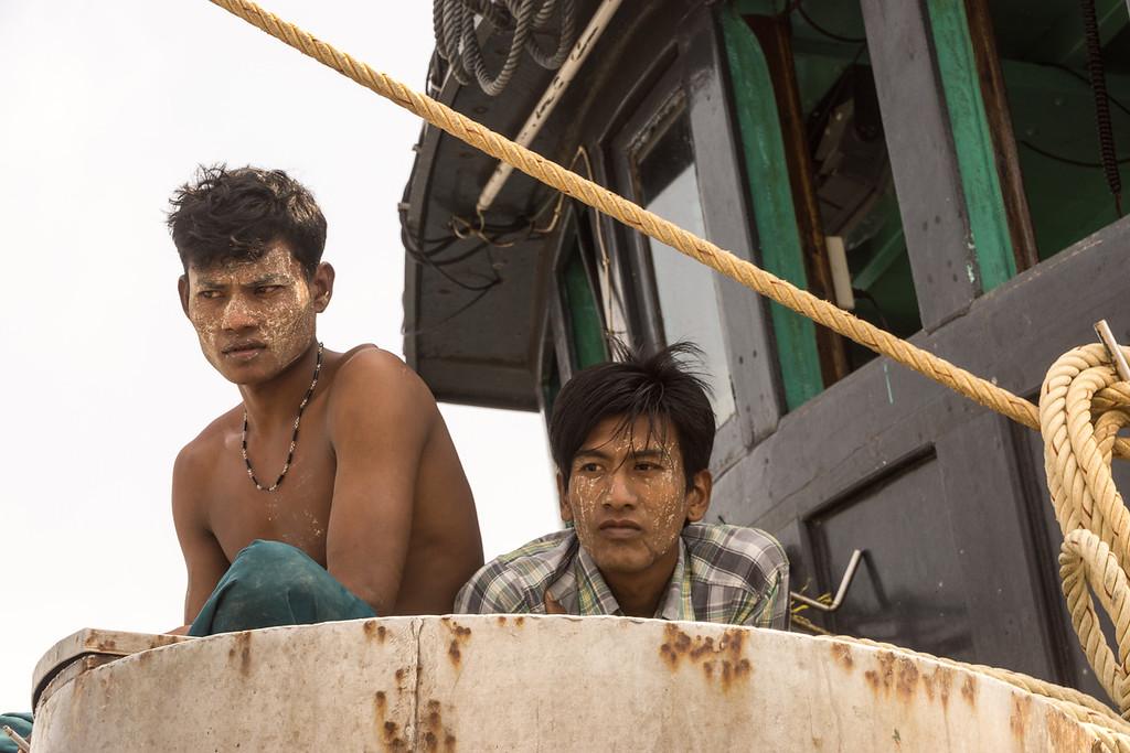 fishermen, Merqui Archipelago, Andaman Sea, Myanmar