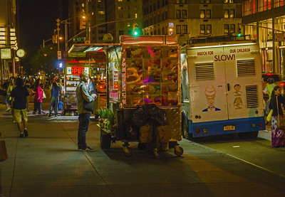 Getting a Bite to Eat - New York City