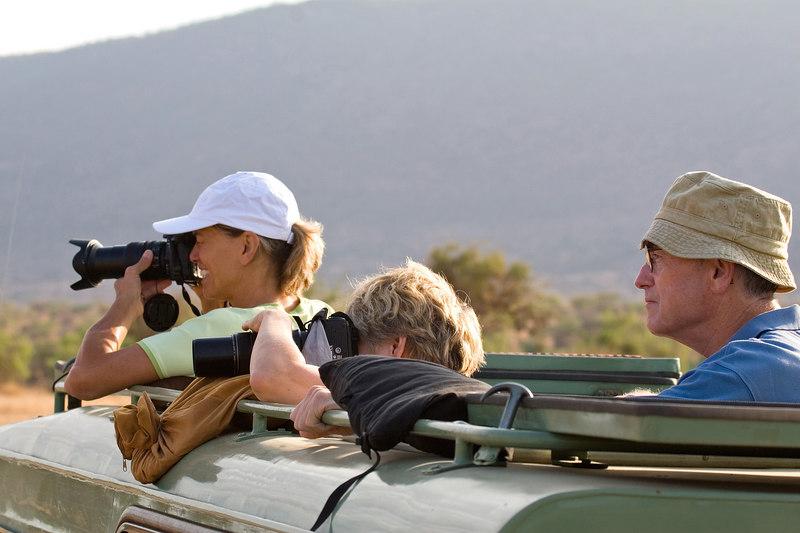 MaryAnne, Barb and Bill, Samburu