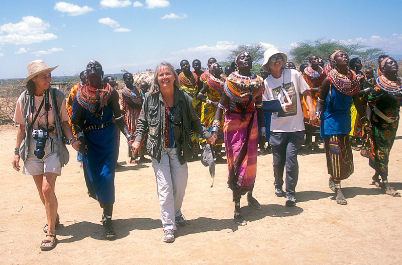 Women at Samburu Village