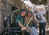 Bob, Jan and Glenn, Samburu Village