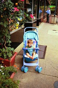 Tyler outside shop in Annapolis, Maryland