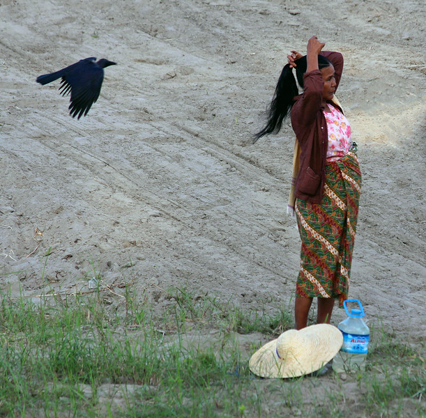 The Woman and the Crow