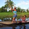 Women Canoeing