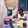 Women With Baskets  Baby