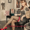 "Owner Cheri Graf of the hair and Tattoo salon ""Bombshell Hair and Ink"" in Benicia, California"