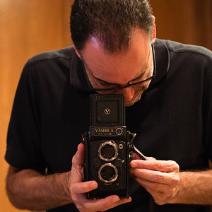 Tony and his old Yashica