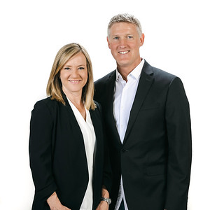 Portraits of Engel and Volkers Agents Rob and Sherry Boyd