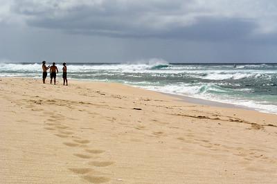 unset Beach, North Shore of O'ahu, Hawai'i